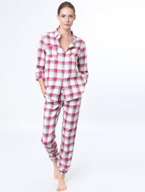 Pyjama shirt red.