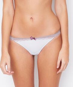 Thong white.
