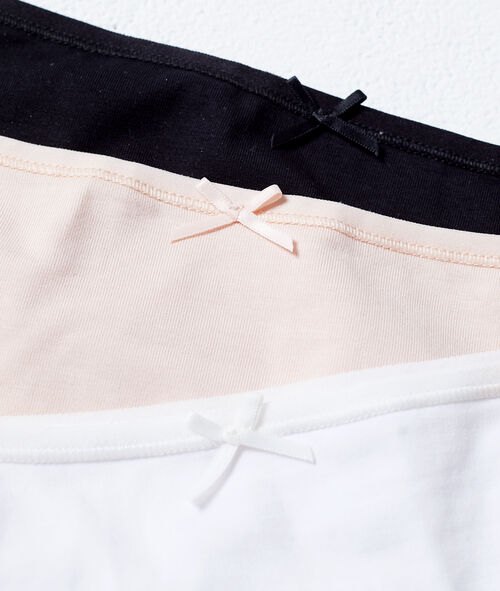 Pack of 3 coton briefs