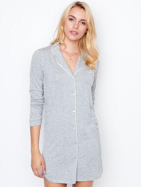 Nachthemden grau.