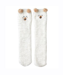 Sweat bear homesocks white.