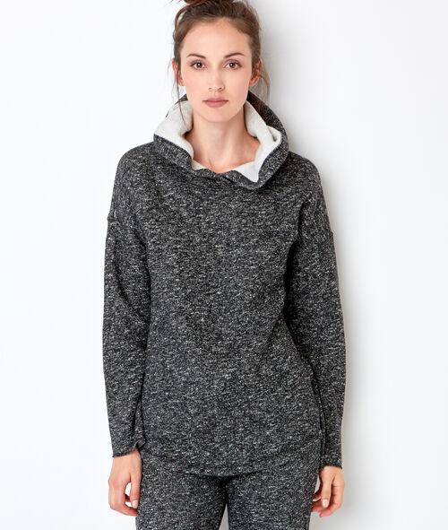 Homewear sweat jacket