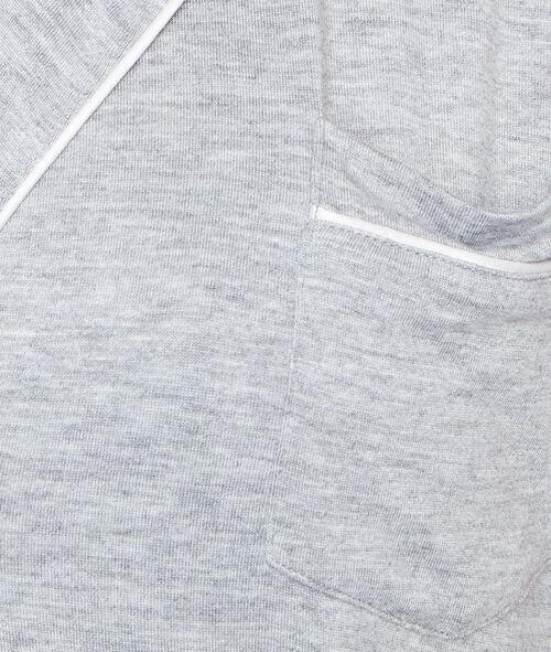 Chemisette de pyjama fluide