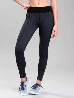 Ultra-strech pants, reflecting details grey.