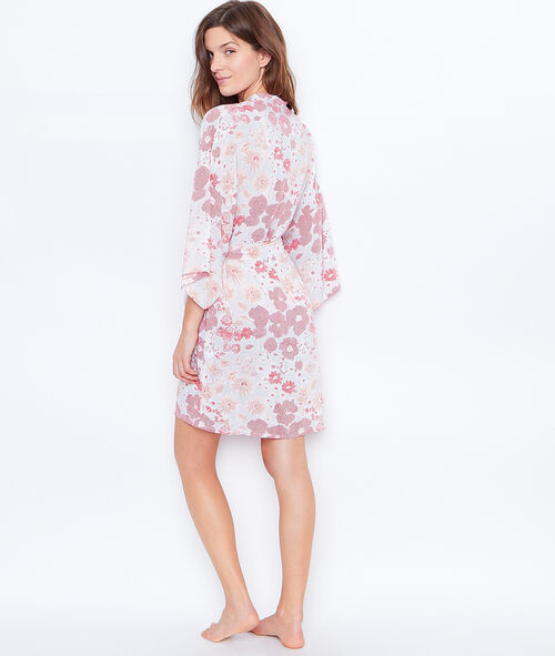 PRINTED NEGLIGEE