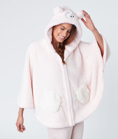 Monster poncho pink.