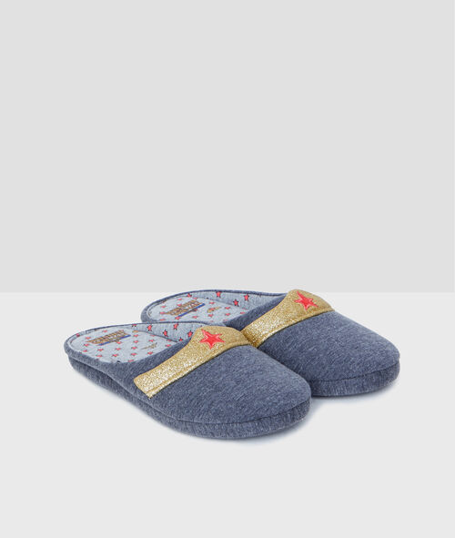 Wonder Woman slippers