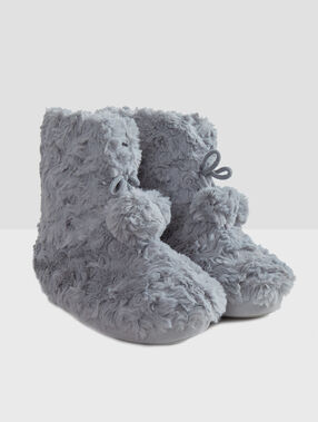 Boots slippers grey.