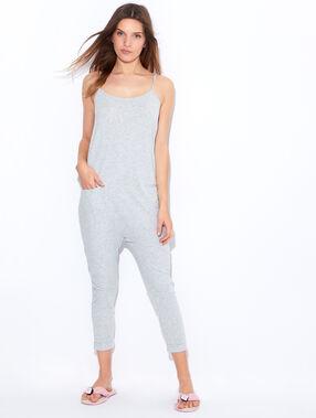 Jumpsuit grey.