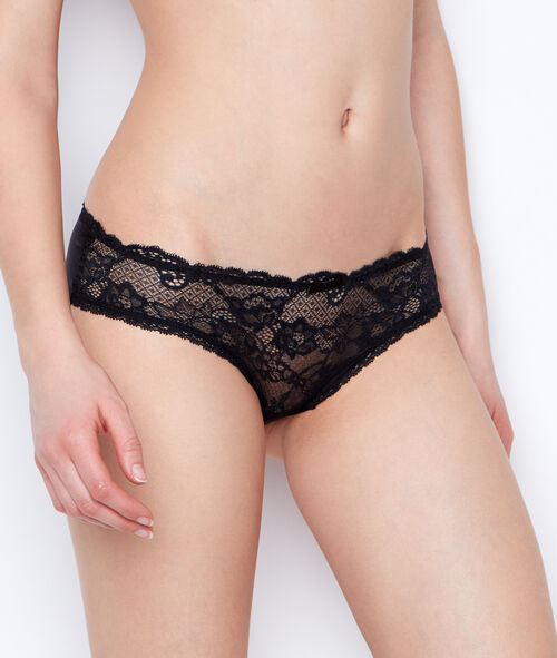 Micro and lace short