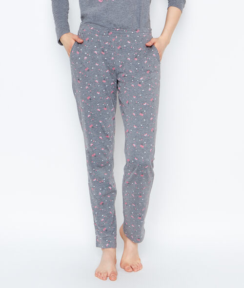 Monster print 3-pieces pyjama