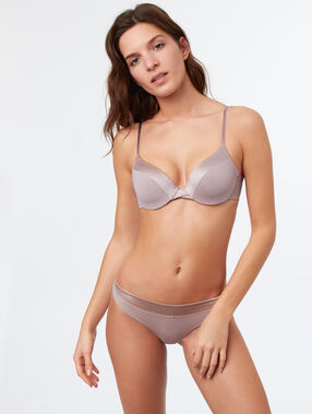 Push-up-bh cup d beige.