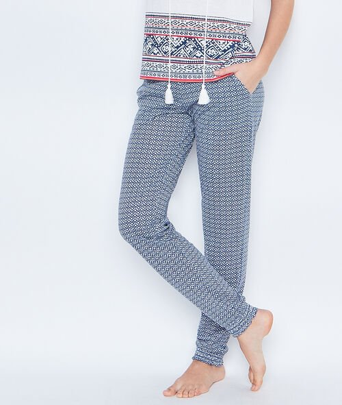 PRINTED PYJAMAPANTS