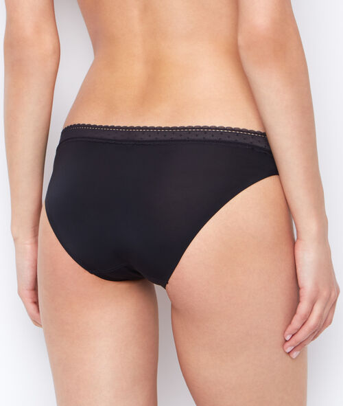 Micro and lace knickers