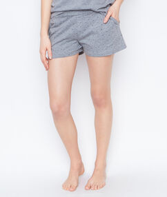 Printed short grey.