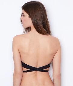 Bra straps black.