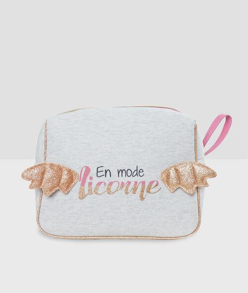 Unicorn toiletbag