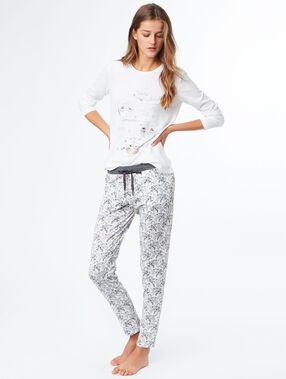 Pyjamapants grau.