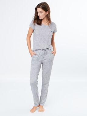 Pyjama top grey.