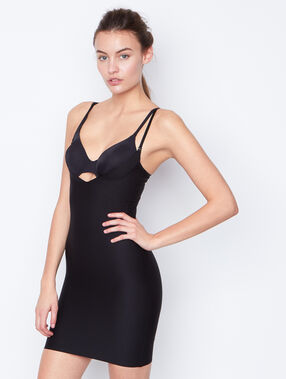 Shapewear nightdress black.