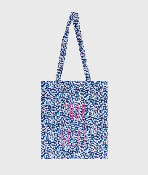 Pinted tote bag