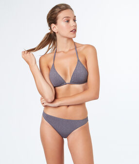 Triangle bra grey.