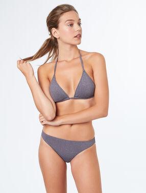 Triangle bra grey.