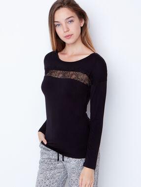 Pyjamas 3 teilig schwarz.