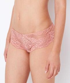 Shorty aus spitze rosa.
