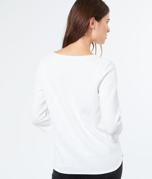 3/4 sleeves sweatshirt