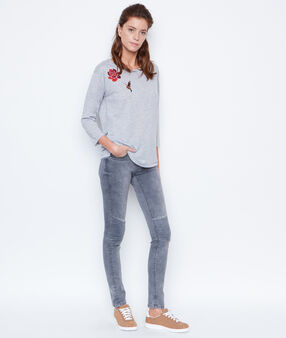 Long sleeves top grey.