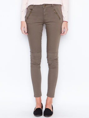 Skinny pants khaki.