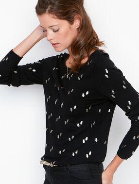 Long sleeves sweater black.