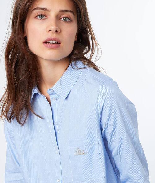 Cotton stripped shirt