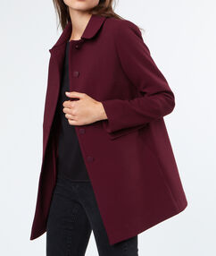 3/4 coat plum.