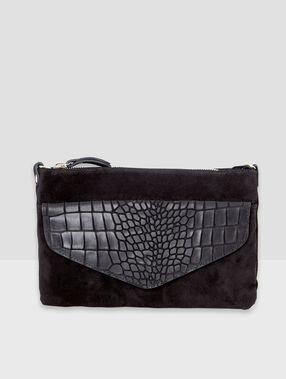 Clutch bag black.