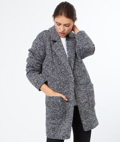 3/4 coat grey.