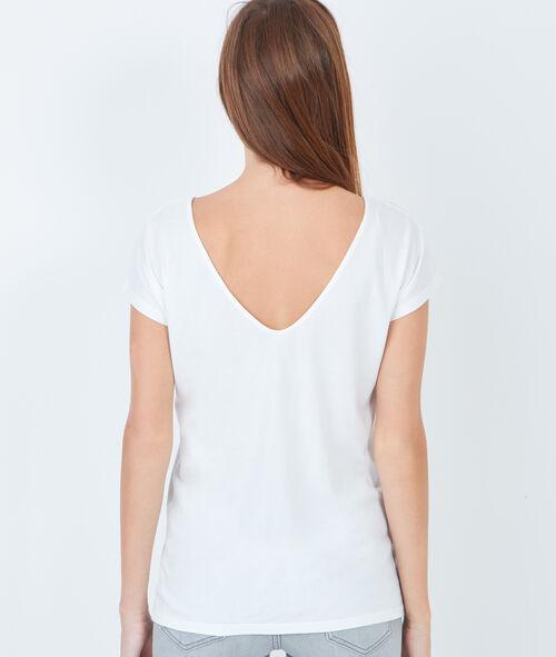 Print cotton t-shirt