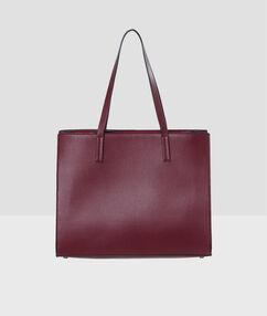Bag burgundy.