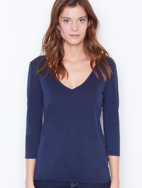 3/4 sleeve t-shirt navy.