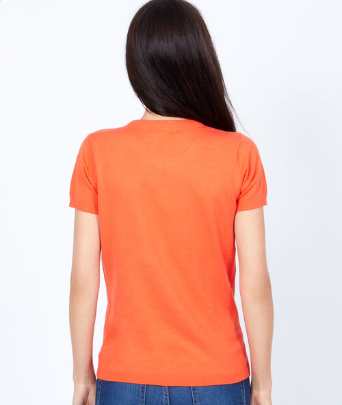 Short sleeves coton t-shirt