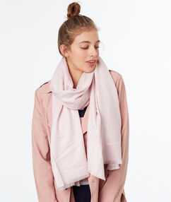 Scarf pink.