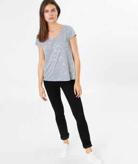 T-shirt grau.