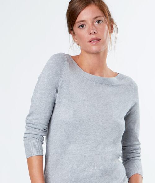 Sailor collar sweater
