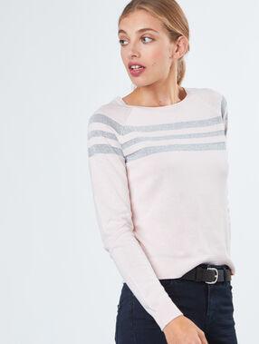 Sailor collar sweater off-white.