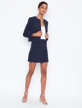 Short jacket navy.