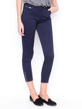 Cropped pants navy.