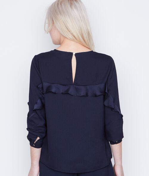 Flounces blouse