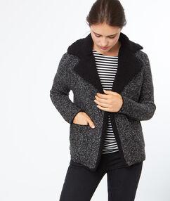 Short jacket grey.