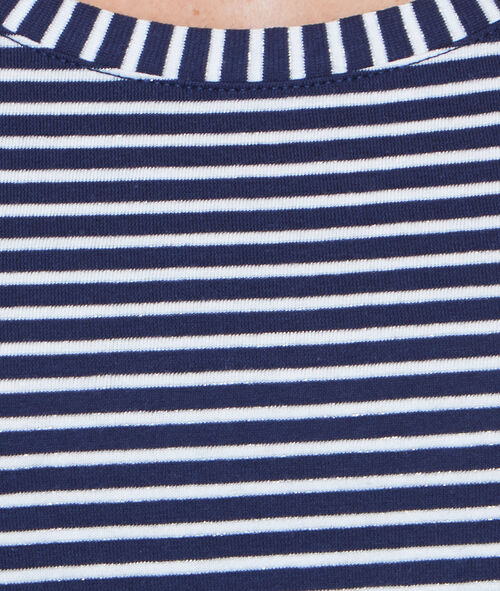 T-shirt marinière manches courtes